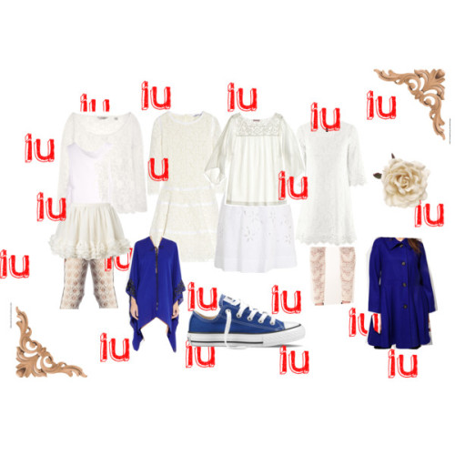 "white IU by jelbudjel featuring a ruffle skirtSee by Chloe lace dress, $795H M lace dress, £20Melissa Odabash sequin tunic, $960CALYPSO ST BARTH long top, $145Scoop neck tee, $90Bassike pocket tank, $89Plus size coat, $81Paul Smith skirt, $325Staple printed legging, $79Ruffle skirt, $75Trasparenze lace legging, €15Converse shoes, $50Monsoon flower hair accessory, £8ArchitecturalDepot.com: 8""W x 8""H x 5/8""P Onlay Acanthus Corner…"