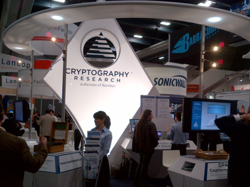 Rambus' Cryptography Research at the 2012 RSA Conference Expo