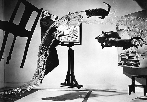 minusmanhattan:  Dali Atomicus by Philippe Halsman.  Dali was such a fucking badass.