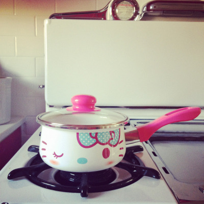 Hello Kitty Saucepan by our.city.lights on Flickr.