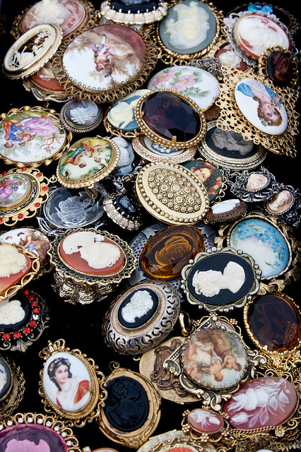 brooches. by ciaokatelinn on Flickr.