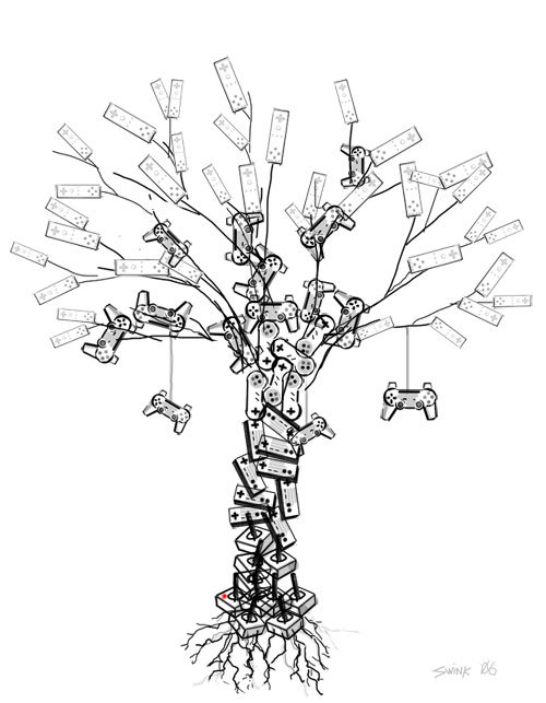 Controller Tree by Steve Wink