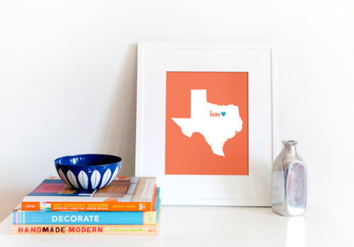 (via Dallas / Fort Worth is My Home // 8x10 by BrightWallVintage)