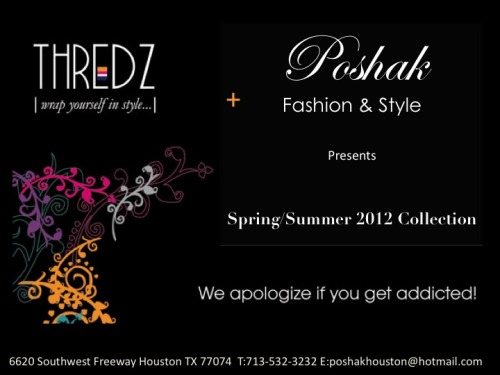 New Collection by THREADZ is now available exclusively at POSHAK HOUSTON…. come check out !!…