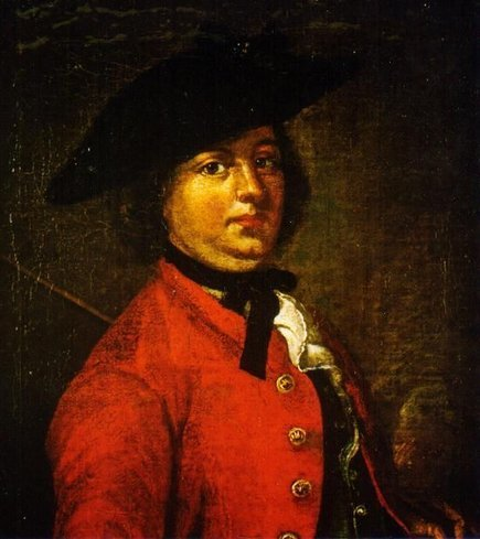 "fuckyeahhistorycrushes:    This BAMF lady here, is called Hannah Snell :D She was born in Worcester in 1723, low class, and married in 1744 to James Snell, who wasn't exactly the poster boy at being a husband - he got her pregnant, then sold off her possessions to pay for his whores, and eventually ran off and left her and the baby, who died at seven months. Most people would have remarried, but not Hannah - she dressed up as a man, created the alias James Gray, and JOINED THE ARMY in order to find him. Now, she joined in 1745, ended up fighting in Scotland due to the Jacobite rebellion at the time, but then ended up being given five hundred lashes for refusing to obey her sergeant (who had ordered her to find a whore for him). So she deserted, walked from Carlisle (where she was based), to Portsmouth, AND JOINED THE MARINES. While still pretending to be James Gray. She spent the next five years sailing round the world, fighting in land and sea battles, and being noted for her bravery under fire, and in one battle (at Pondicherry in India), she was horrifically injured - five shots to one leg, six to the other, and one to the groin. While lying in the field hospital waiting to be seen, she knew that she'd end up being discovered - so what did she do? She got an orderly to find her bandages and liniment, and then, using her fingers, dug out the shot, dressed the wound, and when the surgeons came round, she told them she was just shot in the legs. She was fully healed in three months. Nothing stopped her, and even with sharing the same sleeping areas as her friends, as her officers (she was the batman for many an officer), even sharing the same bed, she wasn't found out! In 1750 however, she was discharged along with her fellow Marines, and once they collected all their money, they went to the pub (as you would). In the middle of the pub, she stood up, and said to her friends: ""Why gentlemen, James Gray will cast off his skin like a snake and become a new creature. In a word, gentlemen, I am as much a woman as my mother ever was, and my real name is Hannah Snell."" One of her friends proposed on the spot.  Her friends then persuaded her to apply for a pension from the head of the English army, the Duke of Cumberland. Hannah followed this advice and approached the Duke on 16 June 1750 while he was reviewing troops in St. James's Park. Surprised by the curious figure standing before him, the Duke accepted a petition from Hannah, which detailed her many adventures.     Within days, news of Hannah's exploits had trickled into the London press and the public clamoured for more information. Eager to profit from this notoriety, Hannah immediately sold her story to the London publisher, Robert Walker. Her appearances on stage in uniform caused a sensation, and the news of her adventures quickly spread across Britain. In November 1750, the Royal Chelsea Hospital officially recognised Snell's military service and granted her a lifetime pension. She lived for another forty years, marrying twice and raising two sons, having a brief run on the stage as a celebrity, and opening her own pub called ""The Female Warrior"". In 1791 however, Snell was admitted to the lunatic asylum, Bedlam, where she died six months later. And the husband who had started this all? He was pressganged by the Dutch Navy, and died in a bar, penniless :D Needless to say, these are the days I wish I had a TARDIS so I could find her and FLAIL :D    (Information about her taken from The Female Soldier; Or, The surprising Adventures of Hannah Snell (1st edition), The Augustan Reprint Society, publ. No. 257, Los Angeles, 1989, and http://www.hannahsnell.com/biography.htm . Photo from Google :))"