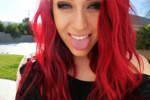 red hair green eyes tumblr wwwpixsharkcom images