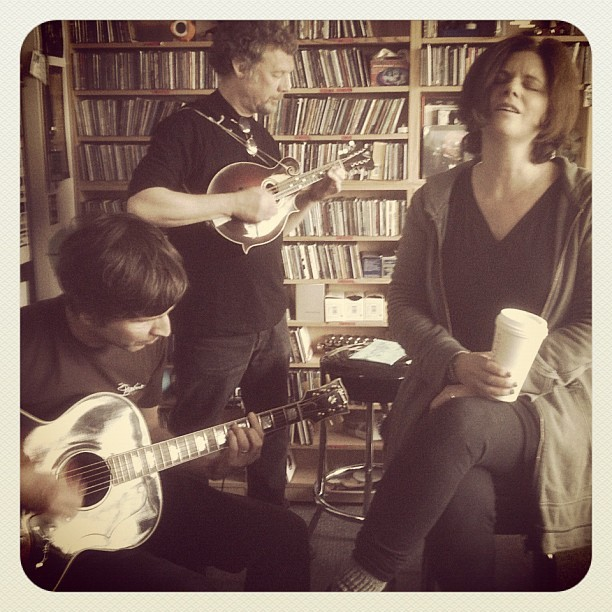 keithwj:  Cowboy Junkies @ Tiny Desk! #nprlife (Taken with Instagram at NPR Headquarters)
