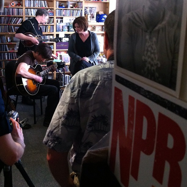 Cowboy Junkies Tiny Desk Concert (Taken with Instagram at NPR Headquarters)