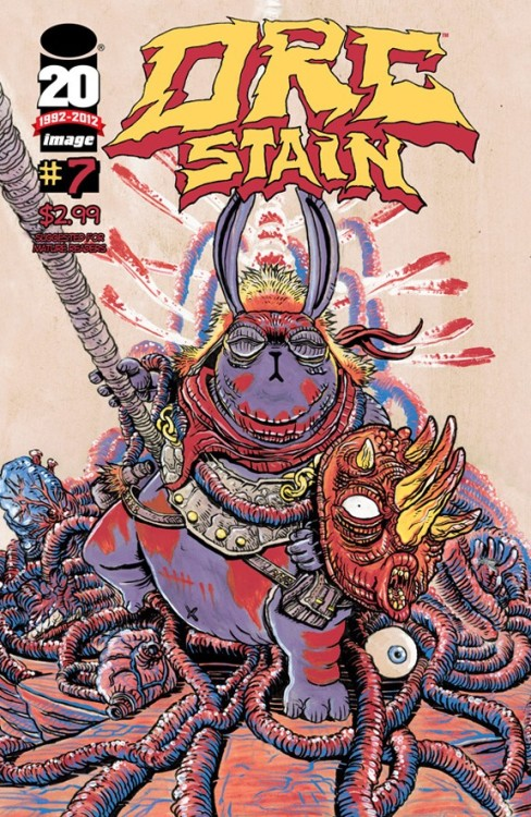 snakebomb:  Nine page preview of James Stokoe's ORC STAIN #7 at comicsalliance