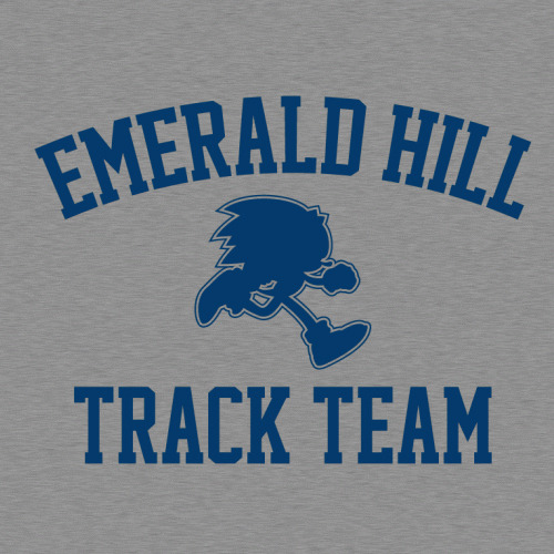 The best runners got their start at Emerald Hill.    Emerald Hill Track Team by BustedTees (via gamefreaksnz)