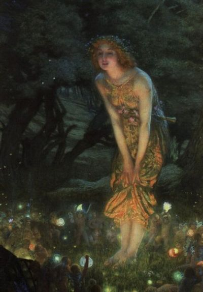 Edward Robert Hughes Midsummer Eve 1908