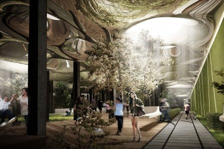 "Kickstarting Urban Renewal with an Underground Park  A Kickstarter campaign is seeking to transform a defunct trolley terminal in Manhattan into a public space. After about a week the project founders, Dan Barasch and James Ramsey, have already raised 60 percent of what they need to make the ""Delancey Underground"" a reality.   Read More on GOOD via good:"