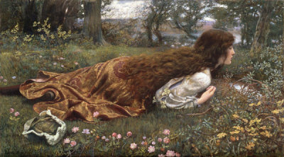 Edward Robert Hughes The Princess Out of School