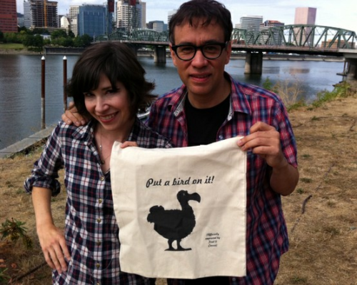 carrie—brownstein:  Put a bird on it!   I DO - I PUT A BIRD ON EVERYTHING, ALWAYS NOW! *SOBBING*