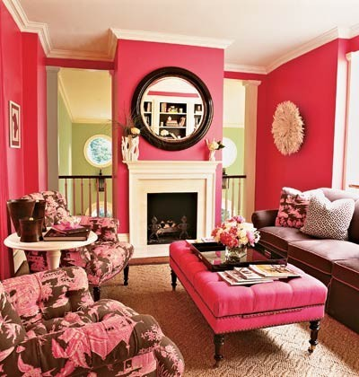 prepitude:  decorating pink.