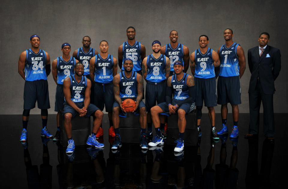 2012 Eastern Conference All-Star Team