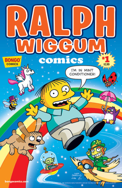 laughingsquid:  Ralph Wiggum Comics  This actually got a 10/10 from Graham Crackers' Comics.