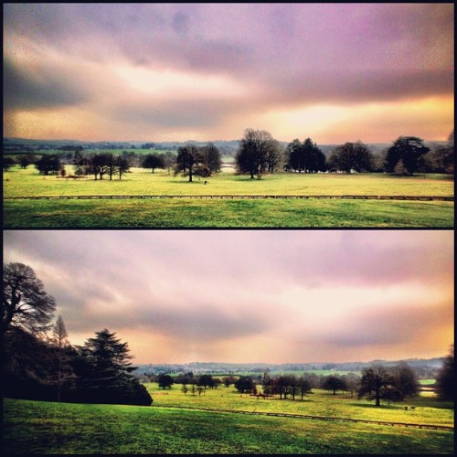It's so nice to be back in the English countryside.  (Taken with Instagram)