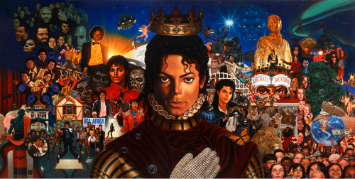Kadir Nelson's illustration - The King of Pop: PLATINUM