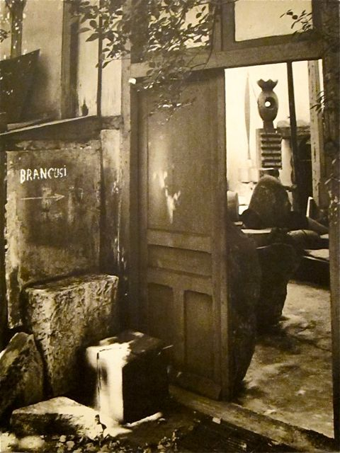"3wings:  Constantin Brâncuşi studio, 11 Impasse Ronsin, 1956 ""I'm a day late and a dollar short, but happy 135th"""