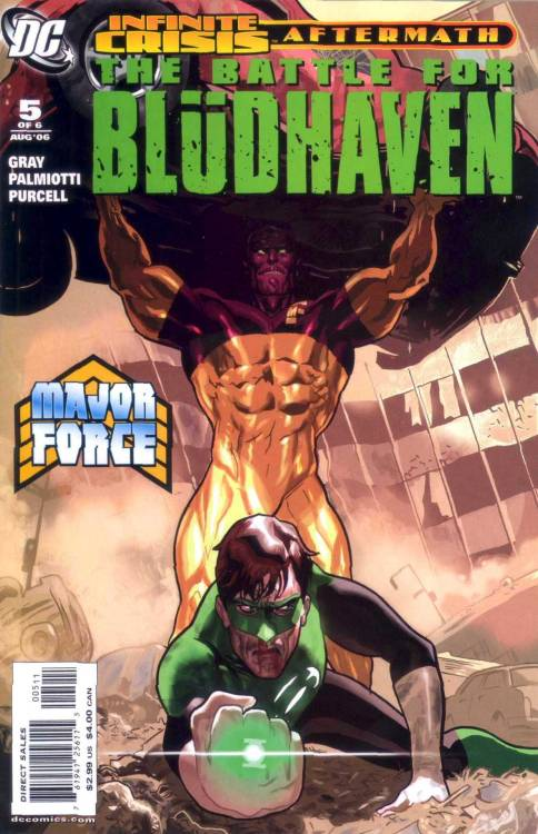 The Battle For Blüdhaven #5 (2006)