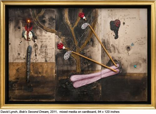David Lynch Solo Exhibit at Tilton Gallery, New York