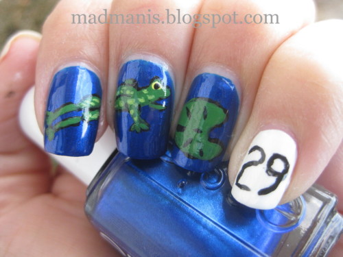 Leap Day nails!