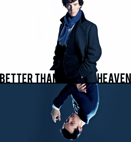 BETTER THAN HEAVEN: A Sherlock + Moriarty Fanmix || Download  Better Than Heaven – Bloc PartyNever been a big fan of thingsBut I'm growing so fond of youYou get sadder the smarter you getAnd it's a boreMuch too, much too typical  Dull Life – Yeah Yeah YeahsStep slowly, you know that you fall betweenDark places, what a simple web we weaveWe've seen the nightmare of the lies that you speakWe've seen the nightmare of your lies  Another Case – Uh Huh HerI'm better than the other ones; you're a harder chaseI will take you to the other side; I will set you upI will break you either way it seemsIt's a testimony to how this will endI will stay awake till I'm the only oneThat's another case you failed  Infra-Red– PlaceboOne more thing before we start the final face-offI will be the one to watch you fallSo I came down to crash and burn your beggar's banquetSomeone call the ambulance; there's gonna be an accident  Megalomania – MuseTake off your disguiseI know that underneath it's meUseless device, it won't sufficeI want a new game to play  Do I Disappoint You? – Rufus WainwrightDo I disappoint you, in just being human?Why does it always have to be fire?Why does it always have to be brimstone?And do I disappoint you?Do I disappoint you in being like you?