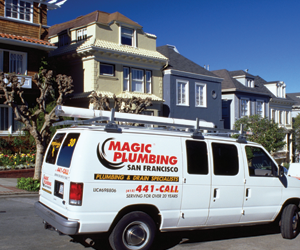 Magic Plumbing 2261 Market Street #120 San Francisco CA 94114 415-441-2255