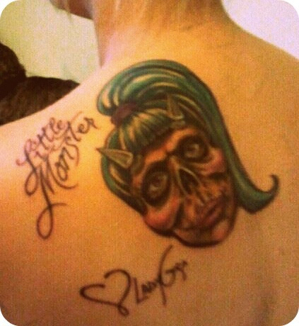 My #Gaga #Tattoo <3