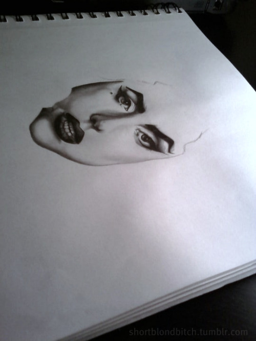 Portrait of Gaga I was working on a long time ago.