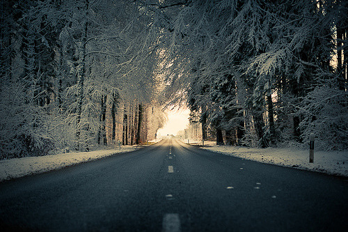 optical-resolution:  Frozen Road (by Philipp Hilpert)