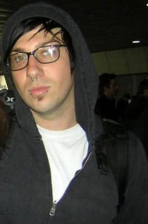 Zacky V:  Avenged Sevenfold  At first I thought this was Frank Iero, haha.