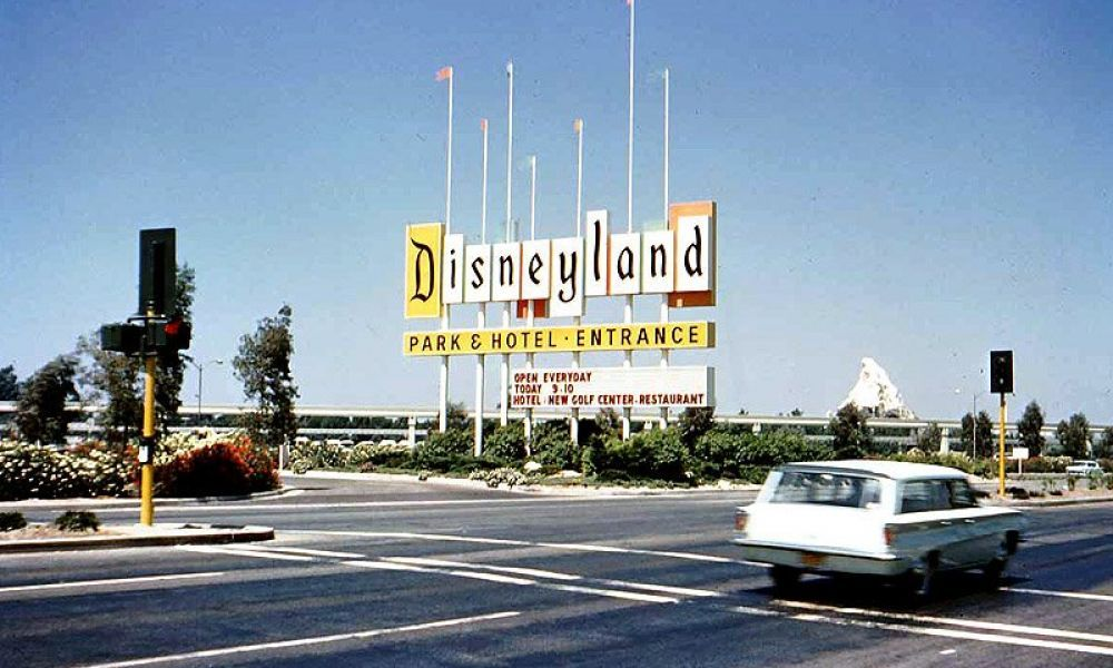 Disneyland Entrance ca.1966