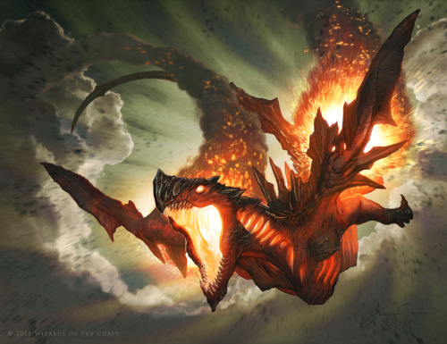 Jason Chan's work for Wizards of the Coast's Magic the Gathering