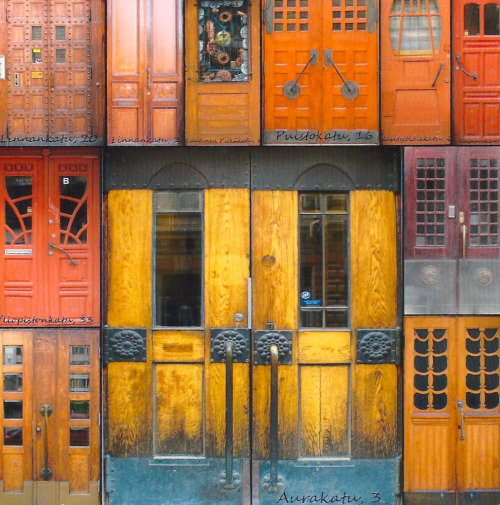 allthingsfinnish:  Doors of Turku