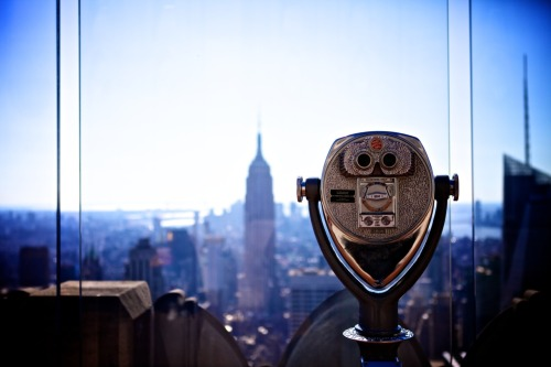 Robot, Top of the Rock in NYC
