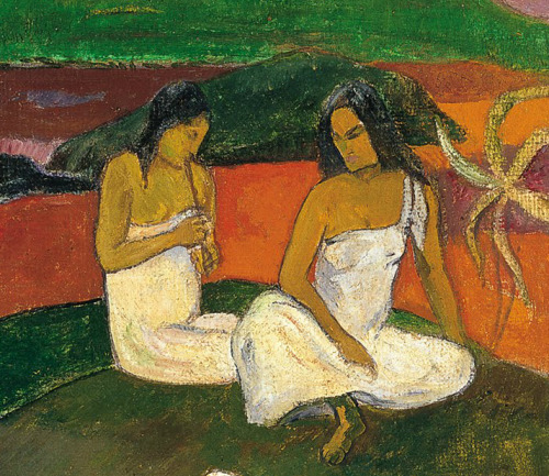 Paul Gauguin, Mata Mua (detail), 1892