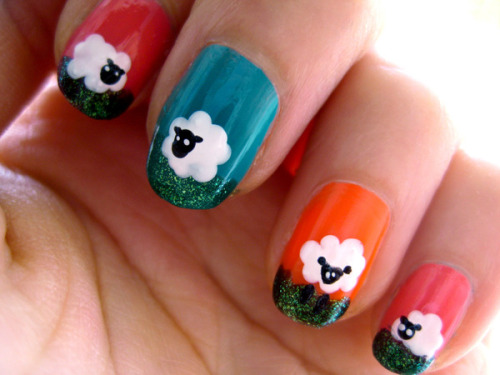 Check out the cute farm animal inspired nails our Beauties have created!