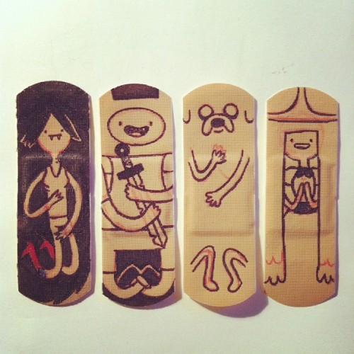 Adventure Time band-aid #1 doodles
