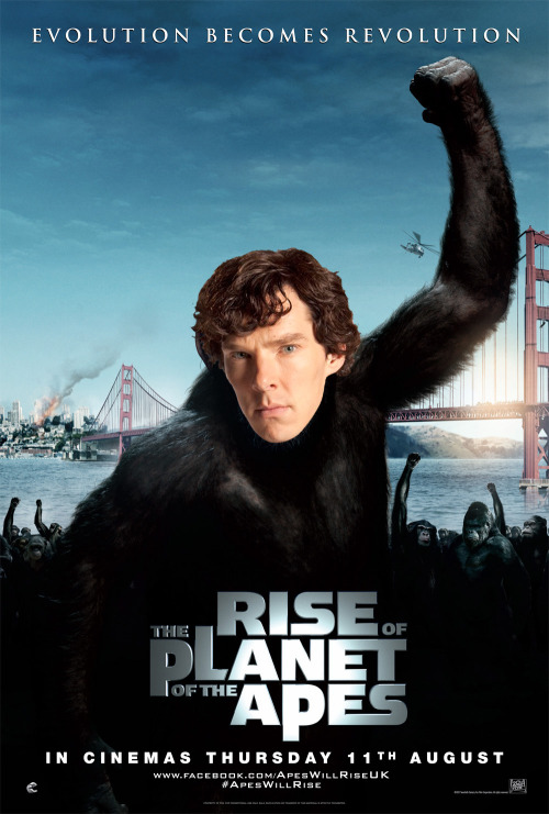 Rise of the Planet of the Apes: Better with Benedict