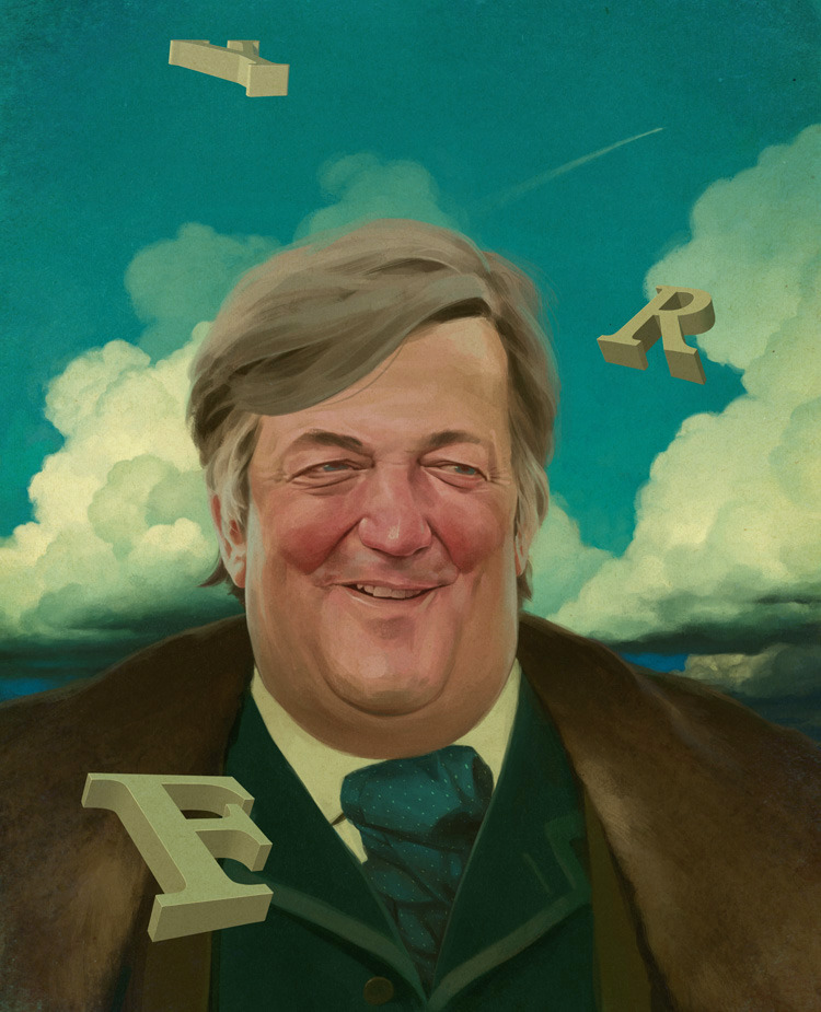 Stephen Fry by Jeremy Enecio