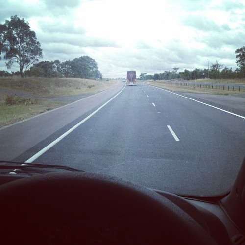 Melburn to Brisbang!  Done this before….  (Taken with instagram)