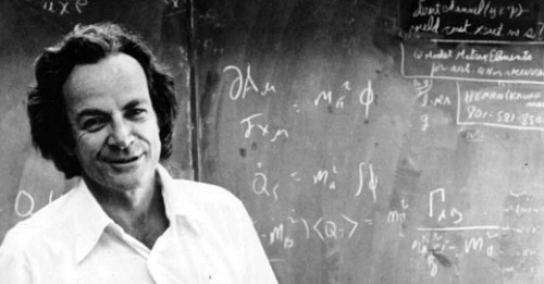 I love my wife. My wife is dead. In June of 1945, Arline Feynman — high-school sweetheart and wife of the hugely influential physicist, Richard Feynman — passed away after succumbing to tuberculosis. She was 25-years-old. 16 months later, in October of 1946, Richard wrote his late wife the following love letter and sealed it in an envelope. It remained unopened until after his death in 1988. (via Letters of Note: I love my wife. My wife is dead.)