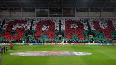 pitchinvasion:  RIP. tifofootball:  Wales national team