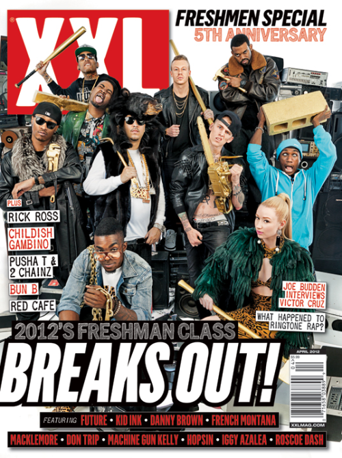 @XXLStaff #FreshmanCover2012 what are your thoughts on this years cover?