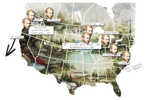 casemorton:  Amazing Bon Iver US map!
