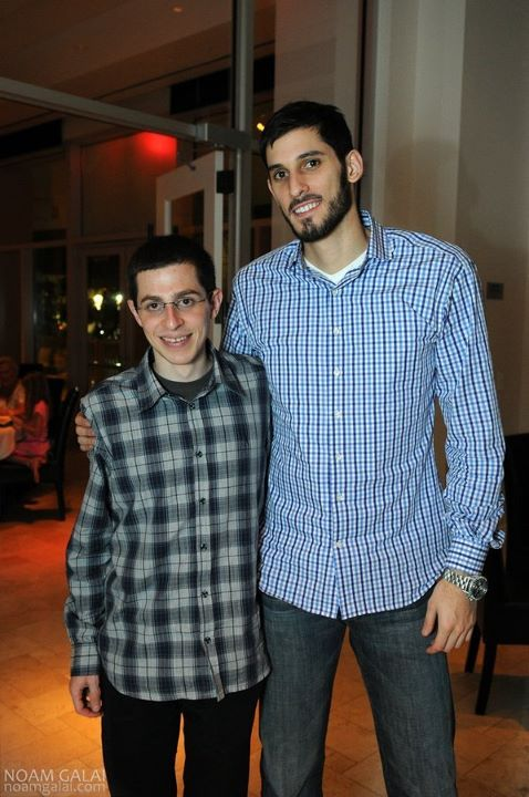 Omri Casspi and Gilad Shalit