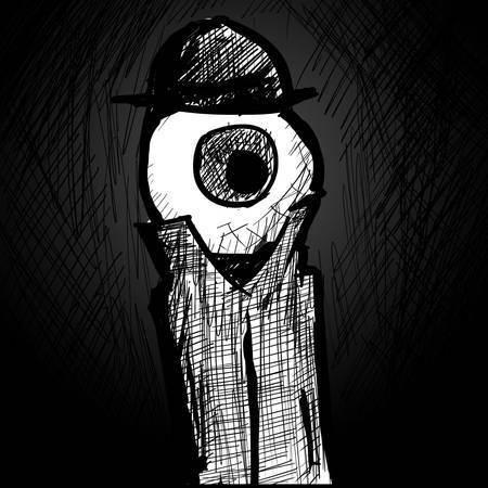 nathanlivni:  Anthropomorphic Body Parts: The Mysterious Mr. Eye