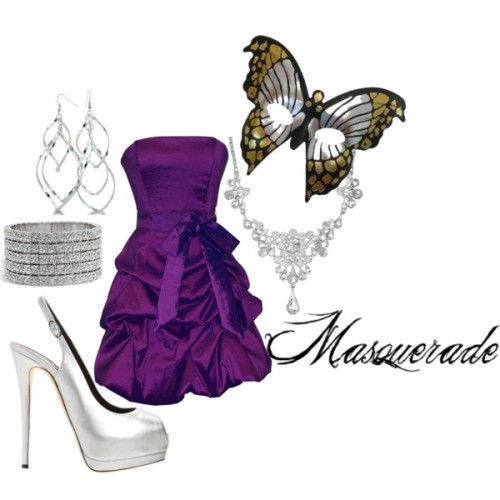 Meredith- Masquerade by forever-inspired featuring formal wear dresses